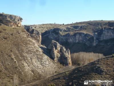 Parque Natural del Barranco Río Dulce; rutas senderismo navarra rutas senderismo sevilla